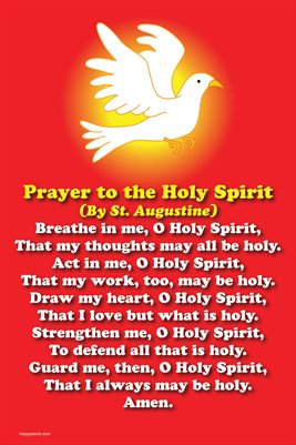 Happy Saints Prayer to the Holy Spirit