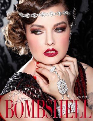 BOMBSHELL Magazine September 2019 BOOK 1 - Dapper Dan Doll Cover