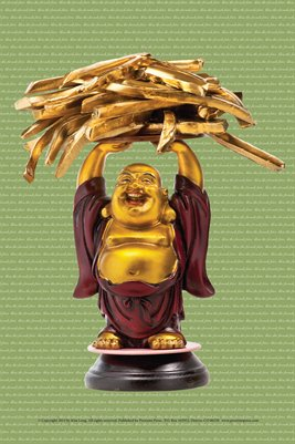 French Fries Buddha Miniposter