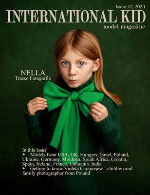 International Kid Model magazine Issue #52