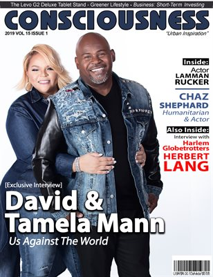 David and Tamela Mann featured on Consciousness Magazine