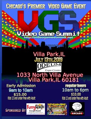 2019 Video Game Summit Program