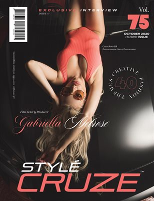 OCTOBER 2020 Issue (Vol: 75) | STYLÉCRUZE Magazine
