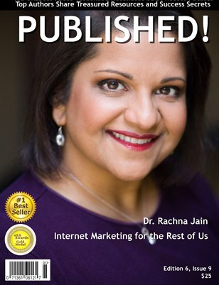 PUBLISHED! featuring Dr. Rachna Jain