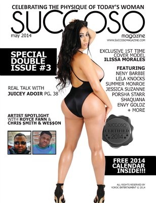 Succoso Magazine Double Issue #3 ft Cover Model Ilissa Morales