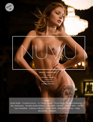 Nuvu Magazine Nude Book 56 Featuring Polina Pshenitsa