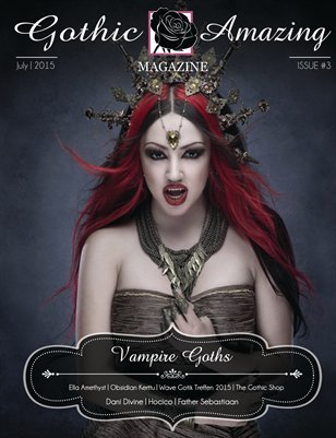 Gothic And Amazing Magazine #3 - Dani Divine version