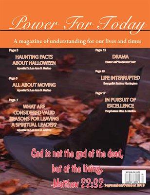 Power For Today Magazine, September/October 2013