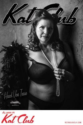 Kat Club No.41 – Hazel Von Tease Cover Poster