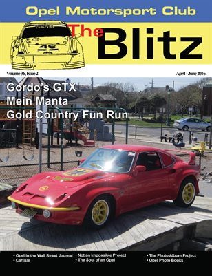 The Blitz, April-June 2016