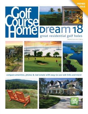 The GCH Dream 18: Great Residential Golf Holes