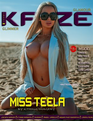 Kayze magazine issue 26 -glimmer - miss teleela