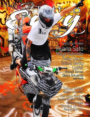 Tattoo Envy - Vol.2 No.6 - Sep/Oct- Limited Edition Cover
