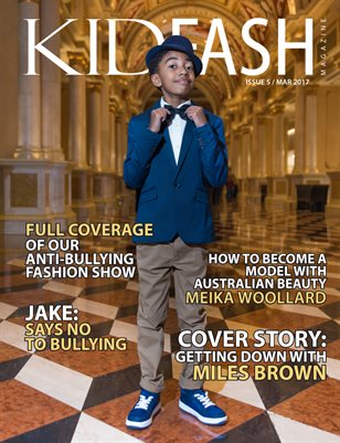 "KidFash Magazine Issue 5 ""Anti-Bullying"""