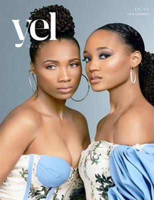 "Yel Magazine First issue. ""Elegant in Denim"""