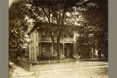 W.A. Usher's Home in Mayfield, Kentucky1