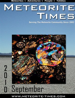 Meteorite Times Magazine - September 2010