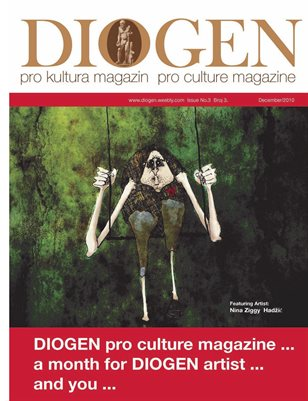 DIOGEN pro art magazine No 3. Decembar / December 2010