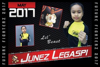 Junez Legaspi Cal Poster 2017