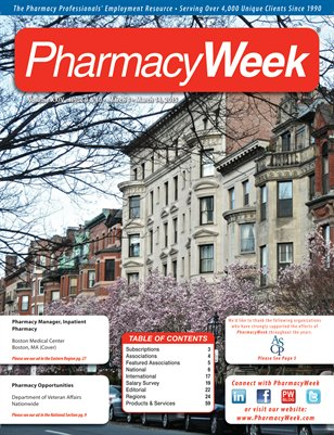 Pharmacy Week, Volume XXIV - Issue 9 & 10 - March 1 - March 14, 2015