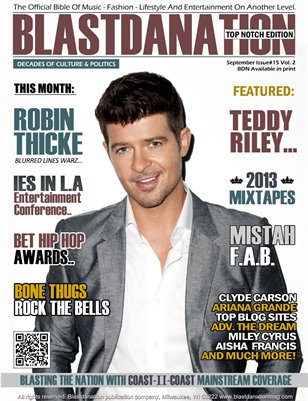 Blastdanation Magazine September 2013 Issue