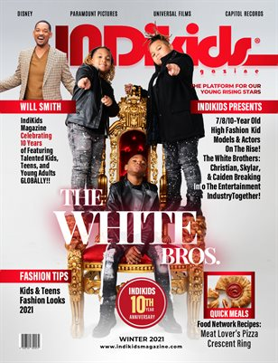 IDK WINTER 2021 ISSUE THE WHITE BROS COVER