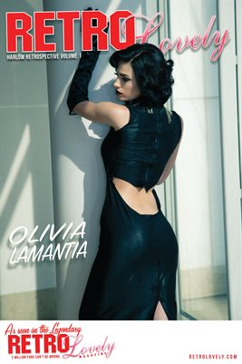 Olivia Lamantia Cover Poster Harlow Retrospective