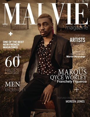 MALVIE Mag - MEN Edition Vol. 29 JULY 2020