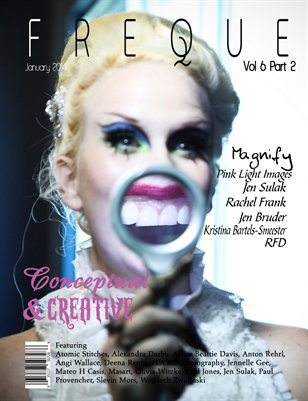 Freque Magazine vol 6 part 2 Conceptual & Creative