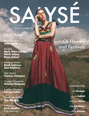 SALYSÉ Magazine | Vol 4 : No 57 | June 2018