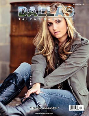 Dallas Talent Magazine August 2016 Edition