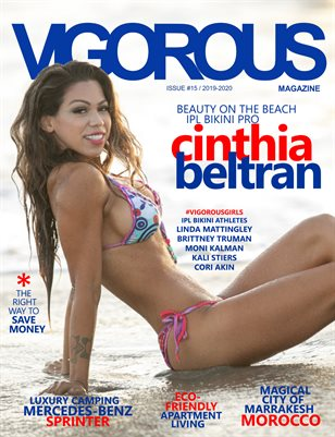 Vigorous Magazine Issue #15 - 2019/2020 - Cover: Cinthia Beltran