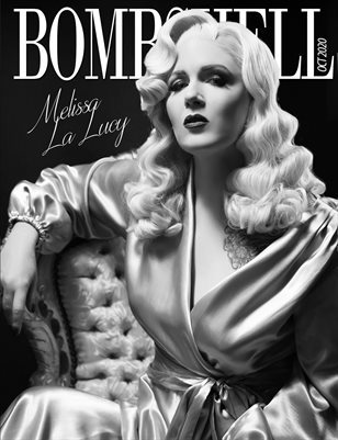 BOMBSHELL Magazine October 2020 - BOOK 2 Melissa La Lucy Cover