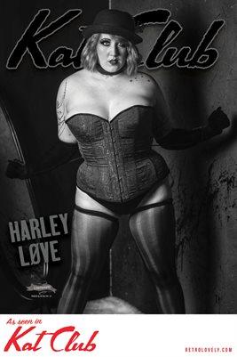 Kat Club No.29 – Harley Løve Cover Poster