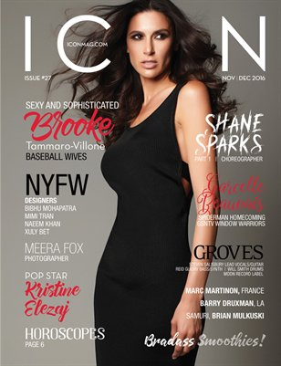 ICON MAG - NOV/ DEC ISSUE 27