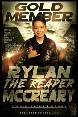 Rylan McCreary Gold Member/Diploma Poster