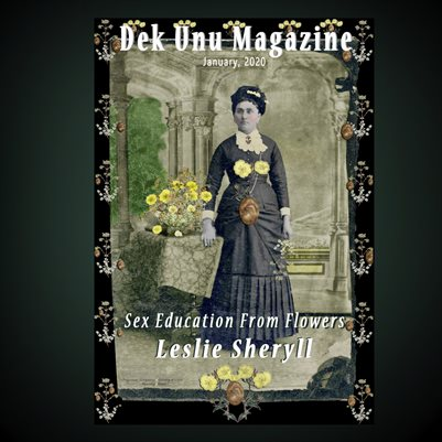 Dek Unu Magazine - Leslie Sheryll