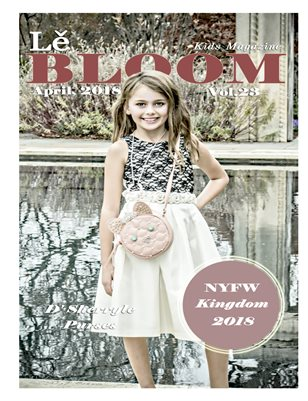 Le Bloom Kids Magazine Reese Whitesell