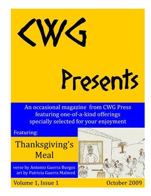 Volume 1 Issue 1 November 2009 Thanksgiving's Meal