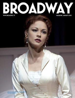 Broadway Magazine January 2010 Catherine Zeta-Jones
