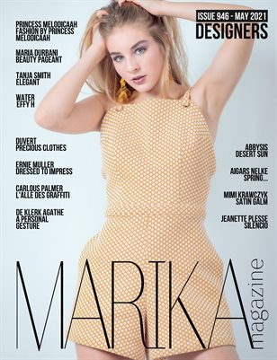 MARIKA MAGAZINE DESIGNERS (ISSUE 946 - MAY)