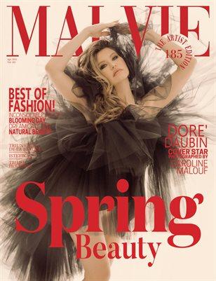 MALVIE Magazine The Artist Edition Vol 185 April 2021