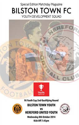 Bilston Town Youth v Hereford United Youth FA Youth Cup