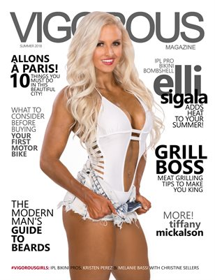 Vigorous Magazine Issue #11 - Summer 2018 - Cover: Elli Sigala