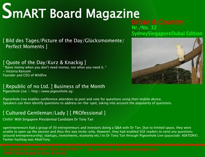 SmART Board Magazine Urban & Country [ SmARTie ] [ SydneySingaporeDubai Edition ]