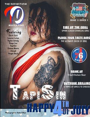 TDM: TapiSin Stars & Strips Issue 3 Cover 1