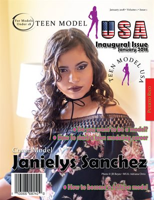 TEEN MODEL USA • VOL 1 • ISSUE 1 • JAN 2018