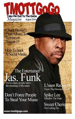 TMOTTGoGo Magazine - Jas Funk - August 2014