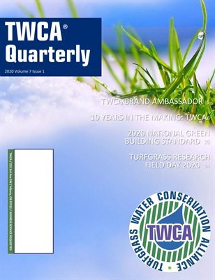 TWCA Quarterly Vol 7 Issue 1