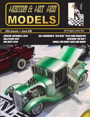 Kustom and Hot Rod Models 2016 Annual